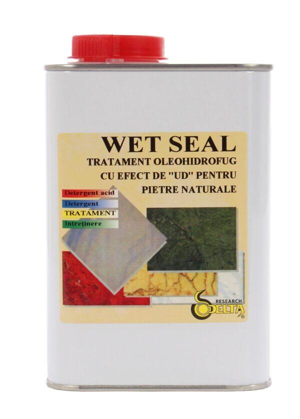 Wet Seal - solutie pentru impermeabilizat piatra naturala cu aspect de umed